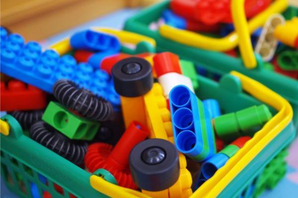 おもちゃの整理