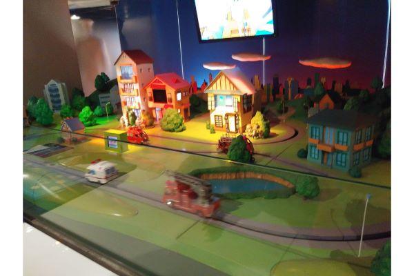 四谷消防博物館 展示