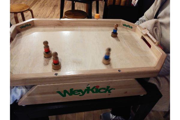 木のボードゲーム