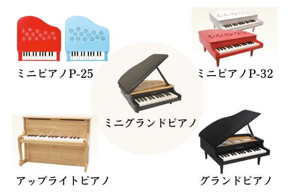 カワイ ミニピアノ 比較 どれがいい